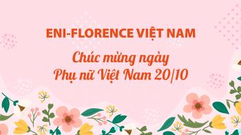 Công ty TNHH Eni-Florence – Chúc mừng ngày phụ nữ Việt Nam 20/10
