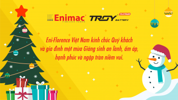 Vietnam Eni-Florence Ltd.Co 's Holiday Greetings for X-Mas and New year 2021