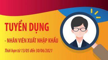 Eni-Florence Việt Nam – Thông báo tuyển dụng Nhân viên Xuất nhập khẩu.